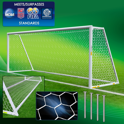 Soccer Goals by Size & Division - AGORA Soccer Goals & Equipment