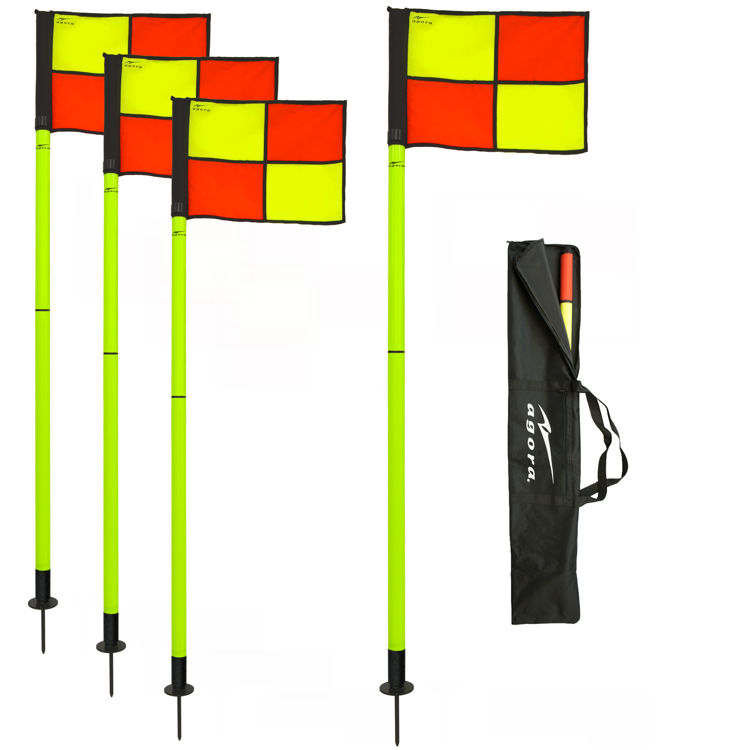 AGORA Pro Line Natural Surface Corner Flags