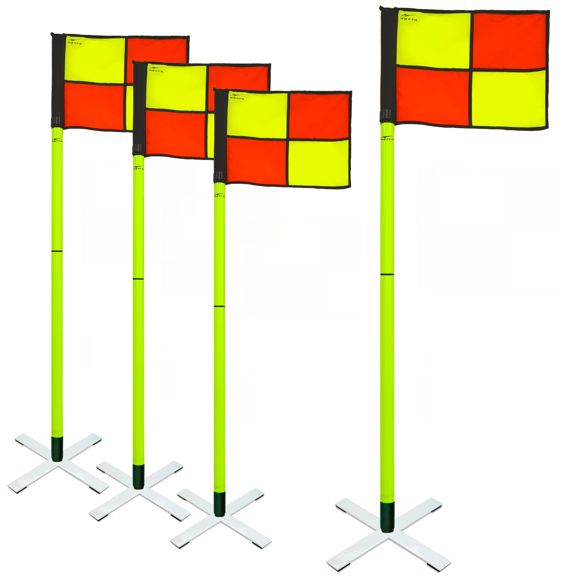 AGORA Pro Line All-Surface Corner Flags