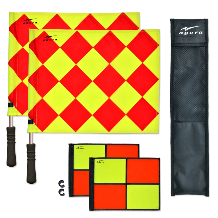 AGORA Pro Line Duo Rotating Referee Flags