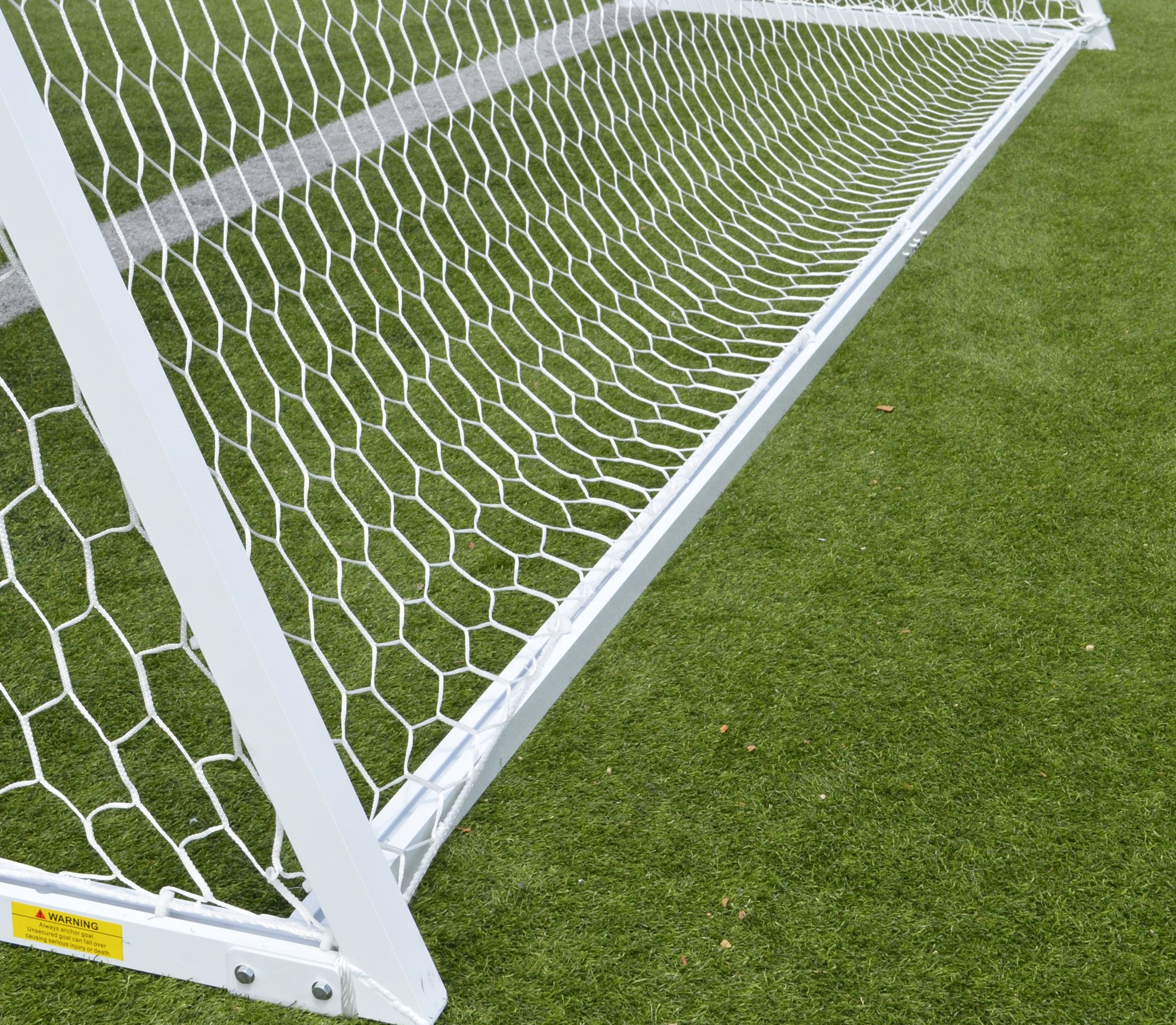 AGORA Channel Pro Soccer Goal - back-bottom bar