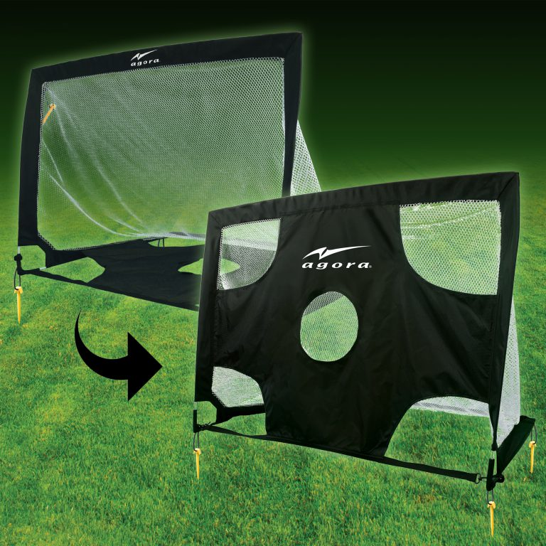 AGORA 2-In1 Pop-Up Soccer Goal