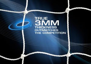 AGORA 3mm Flat-Flaced Training Goal Nets