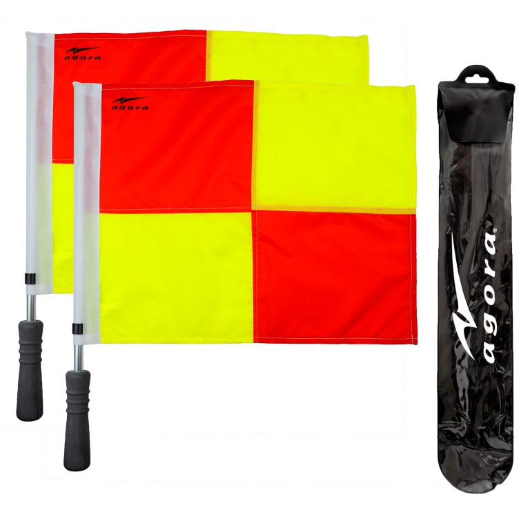 AGORA Pro Line Referee Flags, Square Pattern